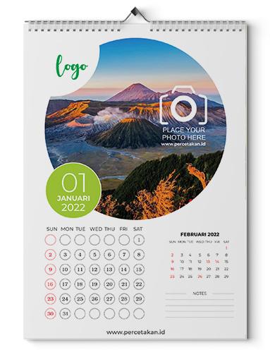 harga kalender dinding  13 lembar