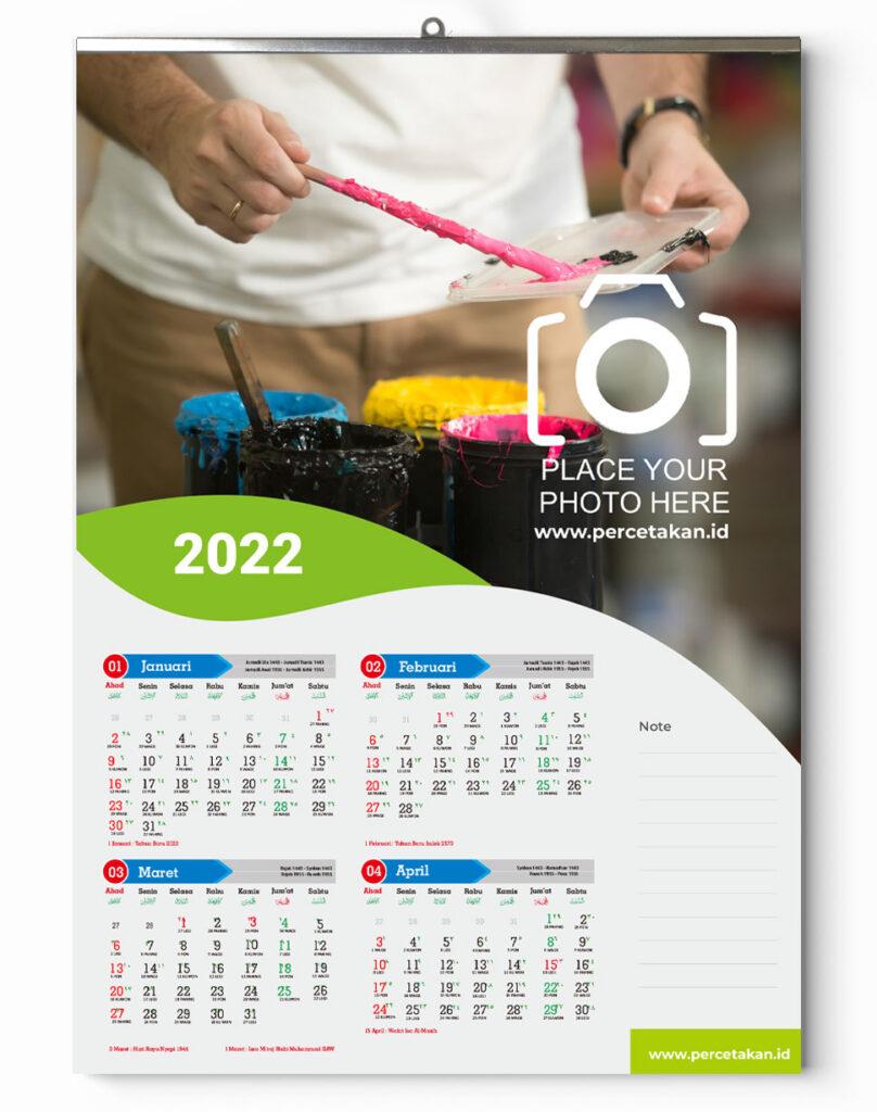 harga kalender dinding 2022