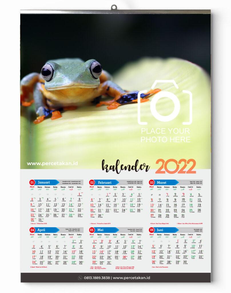 cetak kalender 2022